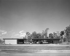 Gas station 1969|Mies van der Rohe