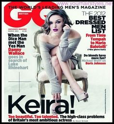 Trend Keira Knightley Hairstyles 2014