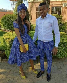 Fashion ideas for traditional african fashion 960 Seshweshwe Dresses, African Wear Dresses, Latest African Fashion Dresses, African Print Fashion, Africa Fashion, African Attire, Ankara Fashion, Couples African Outfits, African Clothing For Men