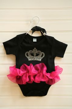 Princess Crown Onesie