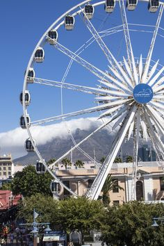 Travel Diary Kapstadt, Cape Town, South Africa, sunset, traveller, travelheart, travellover, travelblogger, V&A Waterfront, Riesenrad, Ferris Wheel, tabel mountain, tafelberg, clouds, sky, wolken