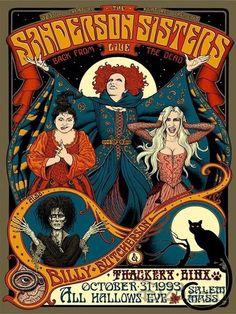 Retro Halloween, Vintage Halloween Posters, Halloween Ideas, Halloween Table, Halloween Signs, Halloween Movies, Fall Halloween, Halloween Costumes, Poster Disney