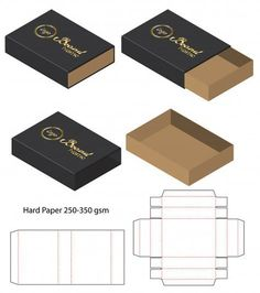 Discover thousands of images about box template Images, Stock Photos & Vectors Diy Gift Box, Diy Box, Gift Boxes, Box Packaging Templates, Packaging Design Box, Packaging Box, Paper Box Template, Box Templates, Origami Templates