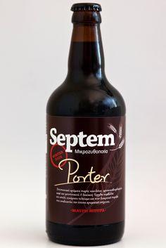 Septem Porter Cocktail Drinks, Cocktails, Winter Day, Beer Bottle, Greece, Food, Beer, Craft Cocktails, Greece Country