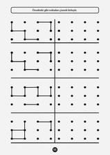 Patterns with template ideas Preschool Writing, Kindergarten Activities, Activities For Kids, Kids Education, Special Education, Visual Perception Activities, Printable Mazes, Free Printable, Tracing Worksheets