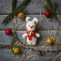 Карманный малыш! Ростик меньше 10 см, теплый шарфик. Продается Цена 600 руб + почта Sale Price 10 $ + shipping #зайчик #заяц #зайка #игрушка #детям #амигуруми #amigurumi #вязание #knitting #белый #шапка #шарф #игрушка #toy #toys #gift #подарок #handmade #ручнаяработа #рукоделие #hobby #хобби #новыйгод #праздник #рождество #christmas #newyear #bunny #rabbit #teddybunny #bell