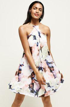 Loving this halter dress