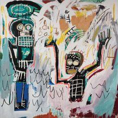 A New Exhibition in Paris Explores Jean-Michel Basquiat's Work - WSJ Jean Basquiat, Jean Michel Basquiat Art, Basquiat Tattoo, Painting Inspiration, Art Inspo, Basquiat Paintings, Graffiti, Urban Art, Art History