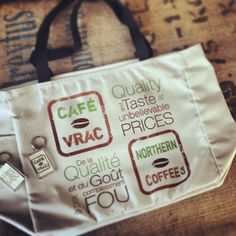 Bientôt disponible sur notre site Internet www.cafe-vrac.com - Available soon on our website www.northern-coffee.ca Promotion, Reusable Tote Bags, Internet, Website, Coffee, I Don't Care, Kaffee, Cup Of Coffee