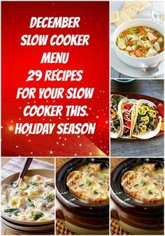 29 recipes for your slow cooker this holiday season