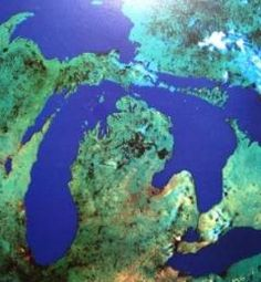 aerial view of michigan | Productive forests contribute to environmental, social and economic ...