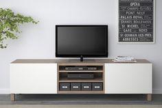 Aunque parece ser que el sistema de muebles Bestå de Ikea lleva ya bastantes años a la venta, no ha sido hasta hace unos días que nosotros lo hemos descubierto y hemos visto las grandes posibilidades decorativas y de almacenaje que tiene. Llevamos un tiempo pensando en sustituir el mueble de TV del salón (ya…