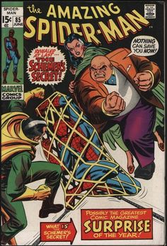AMAZING SPIDER-MAN #85 VS KINGPIN! GLOSSY CENTS COPY WITH WHITE PAGES!