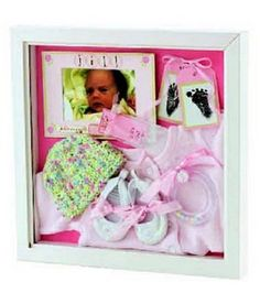 This is totally the look I want for a shadowbox for Trent! #shadowbox #diy