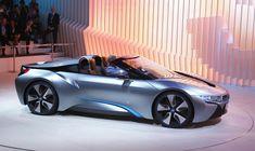BMW i8 Spyder Concept ознаменовал открытие нового суб–бренда