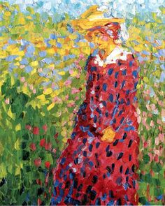 Young Woman ~ Emil Nolde