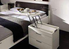 Multipurpose Breakfast Stands - The LA VELA II Pop-up Bedside Table Makes Mornings Enjoyable (GALLERY)