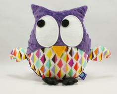#littlesophie #owl #kids #forkids #minky #diamond #violet