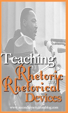Teaching Rhetoric and Rhetorical Devices