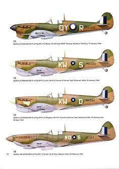 RAAF Spitfires