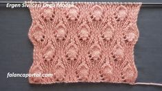 Ergen Sivilcesi Örgü Modeli Knitting Paterns, Knitting Stitches, Crochet Patterns, Crochet For Kids, Knit Crochet, Stocking Pattern, Knitted Afghans, Diy And Crafts, Embroidery