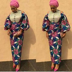 A fabulous collection of latest Ankara skirt and blouse styles – Stylish Naija Africanstylesforladies - African Styles for Ladies