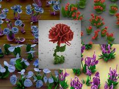 Cientistas de Harvard criam flores microscópicas com cristais