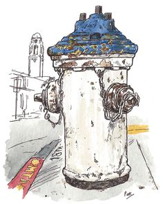 hydrant on 18th & church, SF by petescully, via Flickr
