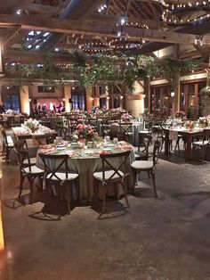Our Cross Back Chair rentals complete the look in this beautiful venue.