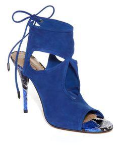 Sexy Thing Bootie by Aquazzura Now Available on Lauren Santo Domingo's Moda Operandi Cheap Designer Shoes, Designer Heels, Bootie Boots, Shoe Boots, Women's Shoes, Only Shoes, Unique Shoes, Kinds Of Shoes, Aquazzura