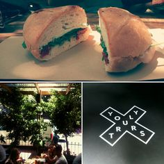 Yours Truly Cafe, 73 Kloof Street, Cape Town, South Africa.   Yours Truly Cafe offers a relaxed setting, good food and drinks and specialises in their gourmet sandwiches and homemade pizzas.  To read my cafe review of Yours Truly, please see: http://tamlynamberwanderlust.com/?p=3062