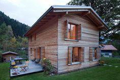 Aussenansicht Passivhaus Schliersee