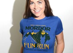 Mordor Fun Run T-Shirt by SnorgTees