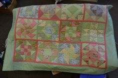 pure gorgeousness - one our first time quilter's masterpiece!