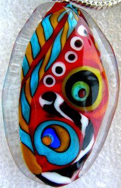 Lampwork glass beads MaFoLi