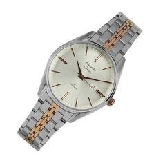 8588LDBTRSL Alexandre Christie Classic Steel Watch Two Tones, Casual Watches, Stainless Steel Case, Quartz Watch, Omega Watch, Bracelet Watch, Rose Gold, Band, Crystals