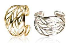 Silver & Gold cuff bracelets