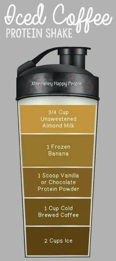 Isagenix Iced Coffee Protein Shake
