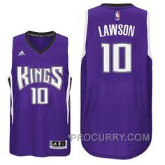 dbf7a50c7a72 2016-17 Season Ty Lawson Sacramento Kings  10 New Swingman Road Purple  Jersey
