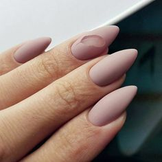 65 Gorgeous Almond Matte Nail Designs You'll Love Almond matte nails can be seen everywhere in the street. They are one of the most popular nail shapes. This nail shape is named Minimalist Nails, Almond Acrylic Nails, Almond Nails, Matted Nails, Nailed It, Pretty Nail Designs, Pin On, Manicure E Pedicure, Super Nails
