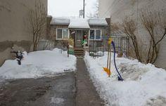 Arrondissement, Shoe Box, Hui, Brick, Canada, Houses, Places, Photos, Outdoor
