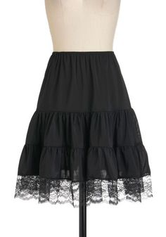 $69.99   To wear under all those dresses that just a little too short!  Swish and Shout Petticoat, #ModCloth