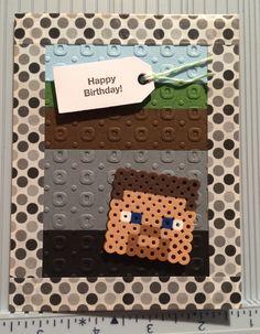Perler Bead Minecraft Steve - Scrapbook.com