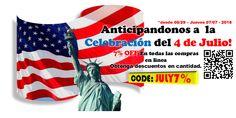 Comenzamos a celebrar el 4 de Julio! Water Cannon  Obtenga el 7% de descuento