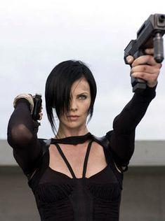 Charlize Theron as Aeon Flux