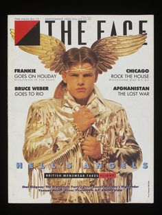 Front cover from The Face (Hell's Angels Cover) no 77 - September 1986 Lloyd Johnson gold jacket © Eamonn Mccabe - Club to Catwalk: About the Exhibition - Victoria and Albert Museum Bruce Weber, John Galliano, Catwalk Fashion, London Fashion, Men's Fashion, Vivienne Westwood, The Face Magazine, Jackson, Gold Jacket