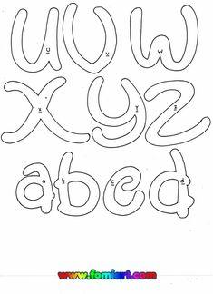 Abecedario 3 Hand Drawn Lettering, Graffiti Lettering, Typography, Applique Patterns, Mosaic Patterns, Disney String Art, Disney Alphabet, Bubble Letters, Doodle Coloring