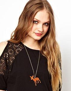 Rosie Wonders Bambi Necklace