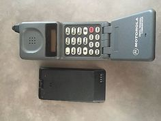 Motorola Old Cell  with extra battery…