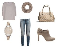 Untitled #41 by katherine-86 on Polyvore featuring Paige Denim, Pull&Bear, Coach, FOSSIL and Anna Field